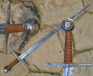 LAMPRECHT, ONE HANDED COMBAT SWORD, EXACT MUSEUM COPY, XIV. CENTURY - MEDIEVAL SWORDS{% if kategorie.adresa_nazvy[0] != zbozi.kategorie.nazev %} - WEAPONS - SWORDS, AXES, KNIVES{% endif %}