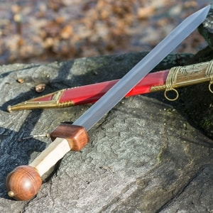 POMPEII GLADIUS SWORD WITH SCABBARD, COLLECTIBLE REPLICA - ANCIENT SWORDS - CELTIC, ROMAN{% if kategorie.adresa_nazvy[0] != zbozi.kategorie.nazev %} - WEAPONS - SWORDS, AXES, KNIVES{% endif %}