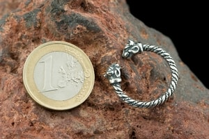 CELTIC CAT, STERLING SILVER RING - PENDANTS - HISTORICAL JEWELRY{% if kategorie.adresa_nazvy[0] != zbozi.kategorie.nazev %} - JEWELLERY{% endif %}