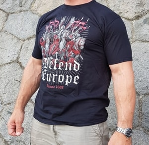 DEFEND EUROPE, WIEN 1683, T-SHIRT - PAGAN T-SHIRTS NAAV FASHION{% if kategorie.adresa_nazvy[0] != zbozi.kategorie.nazev %} - T-SHIRTS, BOOTS - ROCK MUSIC{% endif %}