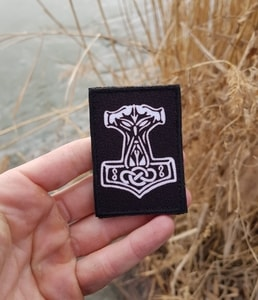 THOR'S HAMMER, VELCRO PATCH - MILITARY PATCHES{% if kategorie.adresa_nazvy[0] != zbozi.kategorie.nazev %} - TORRIN OUTDOOR SHOP{% endif %}
