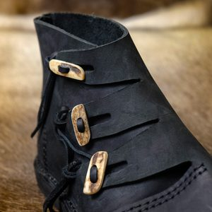 VIKING SHOES - HEDEBY, BLACK - VIKING, SLAVIC BOOTS{% if kategorie.adresa_nazvy[0] != zbozi.kategorie.nazev %} - SHOES, COSTUMES{% endif %}