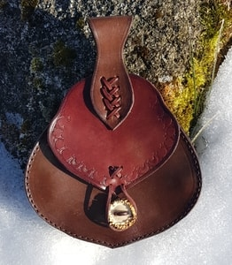 TAURIN, LEATHER MEDIEVAL BAG - BAGS, SPORRANS{% if kategorie.adresa_nazvy[0] != zbozi.kategorie.nazev %} - LEATHER PRODUCTS{% endif %}