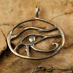 UDYAT THE EYE OF HORUS, BRONZE PENDANT - BRONZE AND BRASS REPLICAS - JEWELLERY{% if kategorie.adresa_nazvy[0] != zbozi.kategorie.nazev %} - JEWELLERY{% endif %}