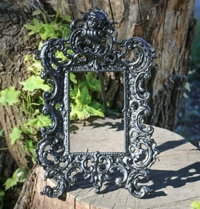 MIRROR OR PHOTO FRAME - FORGED IRON HOME ACCESSORIES{% if kategorie.adresa_nazvy[0] != zbozi.kategorie.nazev %} - SMITHY WORKS{% endif %}