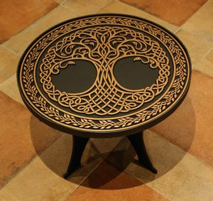 CONFERENCE TABLE - TREE OF LIFE - FORGED IRON HOME ACCESSORIES{% if kategorie.adresa_nazvy[0] != zbozi.kategorie.nazev %} - SMITHY WORKS{% endif %}