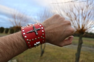 ROCKER, LEATHER BRACELET XX - WRISTBANDS{% if kategorie.adresa_nazvy[0] != zbozi.kategorie.nazev %} - LEATHER PRODUCTS{% endif %}