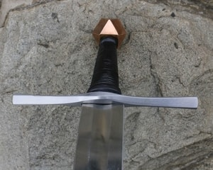 FREDERICK, 14TH CENTURY SWORD, BRONZE POMMEL - MEDIEVAL SWORDS{% if kategorie.adresa_nazvy[0] != zbozi.kategorie.nazev %} - WEAPONS - SWORDS, AXES, KNIVES{% endif %}