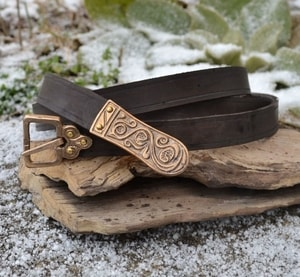 MORAVIA MAGNA, SLAVIC LEATHER BELT, BROWN - BELTS{% if kategorie.adresa_nazvy[0] != zbozi.kategorie.nazev %} - LEATHER PRODUCTS{% endif %}
