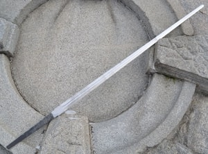 BLADE FOR HAND AND A HALF SWORD, WITH ONE FULLER - BLADES FOR COLD WEAPONS, SWORDS{% if kategorie.adresa_nazvy[0] != zbozi.kategorie.nazev %} - WEAPONS - SWORDS, AXES, KNIVES{% endif %}