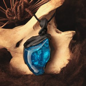 BLUE POWER - PENDANT - FANTASY JEWELS{% if kategorie.adresa_nazvy[0] != zbozi.kategorie.nazev %} - JEWELLERY{% endif %}