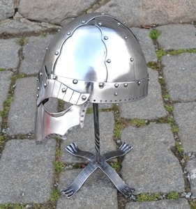 STEINAR, VIKING HELMET, POLISHED - VIKING AND NORMAN HELMETS{% if kategorie.adresa_nazvy[0] != zbozi.kategorie.nazev %} - ARMOUR HELMETS, SHIELDS{% endif %}