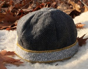 VIKING CAP WITH RIGID WOVEN HEDDLE BELT, BIRKA - HATS FOR MEN{% if kategorie.adresa_nazvy[0] != zbozi.kategorie.nazev %} - SHOES, COSTUMES{% endif %}