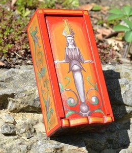 GODDESS, ANCIENT ROME WOODEN BOX, REPLICA - WOODEN STATUES, PLAQUES, BOXES{% if kategorie.adresa_nazvy[0] != zbozi.kategorie.nazev %} - WOOD{% endif %}