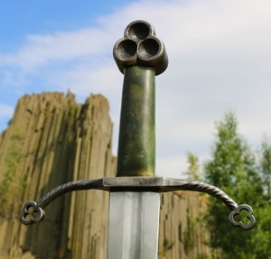 CLAÍOMH SOLAIS - SWORD OF THE LIGHT, IRISH TREFOIL SWORD - MEDIEVAL SWORDS{% if kategorie.adresa_nazvy[0] != zbozi.kategorie.nazev %} - WEAPONS - SWORDS, AXES, KNIVES{% endif %}