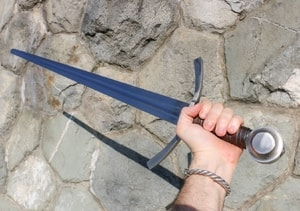 RANDWULF, SINGLE HANDED SWORD, BATTLE READY REPLICA - MEDIEVAL SWORDS{% if kategorie.adresa_nazvy[0] != zbozi.kategorie.nazev %} - WEAPONS - SWORDS, AXES, KNIVES{% endif %}