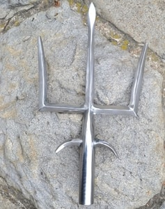 GLADIATOR'S TRIDENT, RETIARIUS, REPLICA - ANCIENT SWORDS - CELTIC, ROMAN{% if kategorie.adresa_nazvy[0] != zbozi.kategorie.nazev %} - WEAPONS - SWORDS, AXES, KNIVES{% endif %}