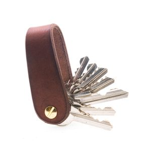 MORLEY, LEATHER KEYCHAIN COGNAC - WALLETS{% if kategorie.adresa_nazvy[0] != zbozi.kategorie.nazev %} - LEATHER PRODUCTS{% endif %}