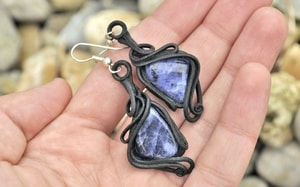 SODALITE - EARRINGS - FANTASY JEWELS{% if kategorie.adresa_nazvy[0] != zbozi.kategorie.nazev %} - JEWELLERY{% endif %}