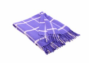 PURPLE AND WHITE WINDOWPANE THROW, FOXFORD IRELAND - WOOLEN BLANKETS AND SCARVES, IRELAND{% if kategorie.adresa_nazvy[0] != zbozi.kategorie.nazev %} - WOOLEN PRODUCTS, IRELAND{% endif %}