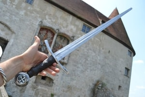 RENOLD, SINGLE HANDED SWORD FOR COMBAT - MEDIEVAL SWORDS{% if kategorie.adresa_nazvy[0] != zbozi.kategorie.nazev %} - WEAPONS - SWORDS, AXES, KNIVES{% endif %}