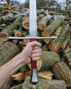 GERBURG, MEDIEVAL HAND AND A HALF SWORD - MEDIEVAL SWORDS{% if kategorie.adresa_nazvy[0] != zbozi.kategorie.nazev %} - WEAPONS - SWORDS, AXES, KNIVES{% endif %}