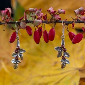 CRANBERRIES, EARRINGS, SILVER - MYSTICA SILVER COLLECTION - EARRINGS{% if kategorie.adresa_nazvy[0] != zbozi.kategorie.nazev %} - JEWELLERY{% endif %}