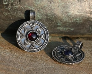 LADOGA, VIKING PENDANT, STERLING SILVER - FILIGREE AND GRANULATED REPLICA JEWELS{% if kategorie.adresa_nazvy[0] != zbozi.kategorie.nazev %} - JEWELLERY{% endif %}