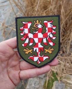 MORAVIA - COAT OF ARMS, VELCRO PATCH - PATCHES UND MARKIERUNG{% if kategorie.adresa_nazvy[0] != zbozi.kategorie.nazev %} - TORRIN OUTDOOR SHOP{% endif %}