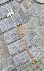 HALBERD, REPLICA OF A TWO-HANDED POLE WEAPON - AXES, POLEWEAPONS{% if kategorie.adresa_nazvy[0] != zbozi.kategorie.nazev %} - WEAPONS - SWORDS, AXES, KNIVES{% endif %}