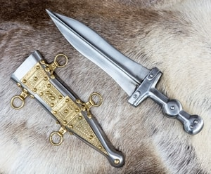 PUGIO, ROMAN DAGGER, TYPE POMPEI - COSTUME AND COLLECTORS' DAGGERS{% if kategorie.adresa_nazvy[0] != zbozi.kategorie.nazev %} - WEAPONS - SWORDS, AXES, KNIVES{% endif %}