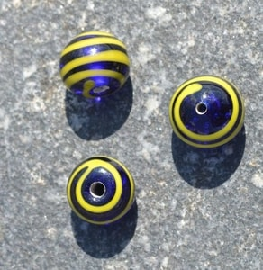 CELTIC HANDMADE GLASS BEAD, MUSEUM REPLICA V3 - HISTORICAL GLASS BEADS, REPLICA{% if kategorie.adresa_nazvy[0] != zbozi.kategorie.nazev %} - LIVING HISTORY, CRAFTS{% endif %}