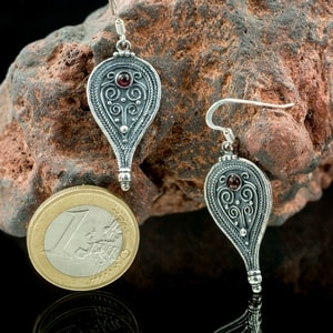 ROMA, ANCIENT ROMAN EARRINGS, SILVER - EARRINGS - HISTORICAL JEWELRY{% if kategorie.adresa_nazvy[0] != zbozi.kategorie.nazev %} - JEWELLERY{% endif %}