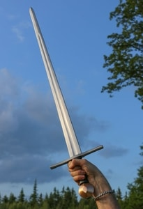 HUBERTUS ONE-HANDED SWORD 1250 - 1350 - MEDIEVAL SWORDS{% if kategorie.adresa_nazvy[0] != zbozi.kategorie.nazev %} - WEAPONS - SWORDS, AXES, KNIVES{% endif %}