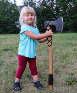 THORSTEN, VIKING AXE - AXES, POLEWEAPONS{% if kategorie.adresa_nazvy[0] != zbozi.kategorie.nazev %} - WEAPONS - SWORDS, AXES, KNIVES{% endif %}