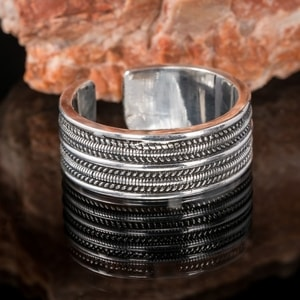 GEIR, VIKING RING, SILVER - FILIGREE AND GRANULATED REPLICA JEWELS{% if kategorie.adresa_nazvy[0] != zbozi.kategorie.nazev %} - JEWELLERY{% endif %}