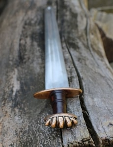 GROM, VIKING SWORD PETERSEN TYPE O, BRONZE, SILVER WIRE - VIKING AND NORMAN SWORDS{% if kategorie.adresa_nazvy[0] != zbozi.kategorie.nazev %} - WEAPONS - SWORDS, AXES, KNIVES{% endif %}