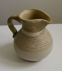 MILK JUG, CERAMIC - TRADITIONAL CZECH CERAMICS{% if kategorie.adresa_nazvy[0] != zbozi.kategorie.nazev %} - CERAMICS, GLASS{% endif %}