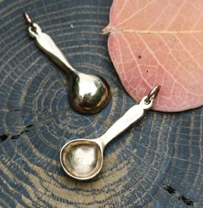 SPOON, PENDANT, BRONZE - MIDDLE AGES, OTHER PENDANTS{% if kategorie.adresa_nazvy[0] != zbozi.kategorie.nazev %} - JEWELLERY{% endif %}