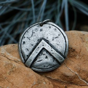 SPARTAN SHIELD, PENDANT, ZINC - MIDDLE AGES, OTHER PENDANTS{% if kategorie.adresa_nazvy[0] != zbozi.kategorie.nazev %} - JEWELLERY{% endif %}