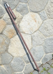 FLAIL, HUSSITE WAR WEAPON, REPLICA, XV. CENTURY - AXES, POLEWEAPONS{% if kategorie.adresa_nazvy[0] != zbozi.kategorie.nazev %} - WEAPONS - SWORDS, AXES, KNIVES{% endif %}