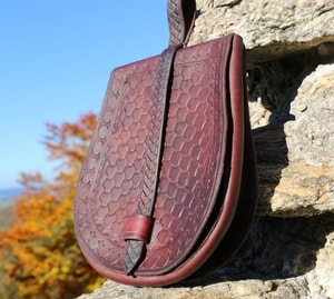 SKUTI, EARLY MEDIEVAL POUCH - BAGS, SPORRANS{% if kategorie.adresa_nazvy[0] != zbozi.kategorie.nazev %} - LEATHER PRODUCTS{% endif %}