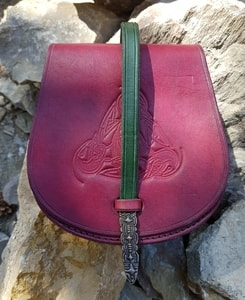 GOTLAND, VIKING LEATHER BAG - BAGS, SPORRANS{% if kategorie.adresa_nazvy[0] != zbozi.kategorie.nazev %} - LEATHER PRODUCTS{% endif %}