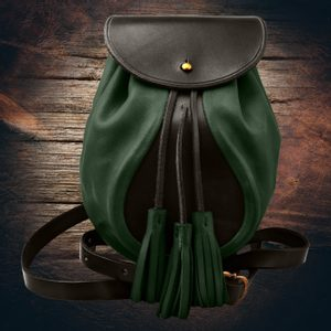 SULLIVAN, SCOTTISH SPORRAN, GREEN WITH BELT - BAGS, SPORRANS{% if kategorie.adresa_nazvy[0] != zbozi.kategorie.nazev %} - LEATHER PRODUCTS{% endif %}
