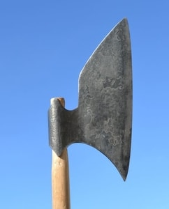 IRISH GALLOWGLASS AXE, FORGED REPLICA, 16TH CENTURY - AXES, POLEWEAPONS{% if kategorie.adresa_nazvy[0] != zbozi.kategorie.nazev %} - WEAPONS - SWORDS, AXES, KNIVES{% endif %}