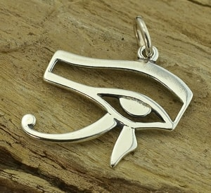 HORUS EYE, ANCIENT EGYPT, SILVER PENDANT - MYTHOLOGY COLLECTION, ANCIENT CULTURES{% if kategorie.adresa_nazvy[0] != zbozi.kategorie.nazev %} - JEWELLERY{% endif %}