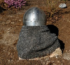 HAGBARD, VIKING HELMET WITH AVENTAIL - VIKING AND NORMAN HELMETS{% if kategorie.adresa_nazvy[0] != zbozi.kategorie.nazev %} - ARMOUR HELMETS, SHIELDS{% endif %}