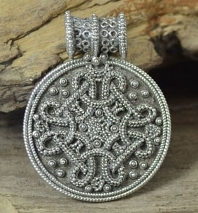 BIRKA, VIKING PENDANT, REPLICA, STERLING SILVER - FILIGREE AND GRANULATED REPLICA JEWELS{% if kategorie.adresa_nazvy[0] != zbozi.kategorie.nazev %} - JEWELLERY{% endif %}
