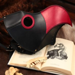 PLAGUE DOCTOR, LEATHER MASK - LEATHER MASKS{% if kategorie.adresa_nazvy[0] != zbozi.kategorie.nazev %} - LEATHER PRODUCTS{% endif %}