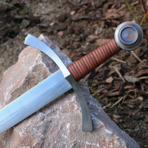 LANFRID SINGLE HANDED MEDIEVAL SWORD FULL TANG - MEDIEVAL SWORDS{% if kategorie.adresa_nazvy[0] != zbozi.kategorie.nazev %} - WEAPONS - SWORDS, AXES, KNIVES{% endif %}